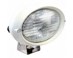 6361 SERIES HALOGEN DECK FLOODLIGHT WHITE HOUSING 12V