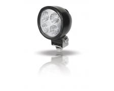 DECKLIGHT LED, 6500K,13W/800lm, 9-33VDC, MODULE70 Black round/small 9-33VDC