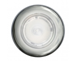 3980 SERIES WHITE LIGHT SPOTLED WHITE AMBIENT RING, POLISHED SS RING