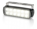 LED SEAHAWK Spread light, Black Asy 9-33VDC