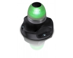 NAVILED 360 ALLROUND LAMP GREEN SURFACE MOUNT BLACK BASE