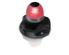 NAVILED 360 ALLROUND LAMP RED SURFACE MOUNT BLACK BASE
