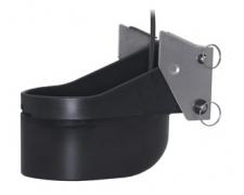 XSONIC TM260 Plastic transom-mount. 50/200Khz with diplexer. Depth/temp. 50Khz @ 19 deg; 200Khz @ 6 deg. - Black 9 pin connector: Cable length 10 m (33.0 ft)