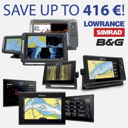LOWRANCE, SIMRAD, B&G campaign: SAVE up to 416 EUR!