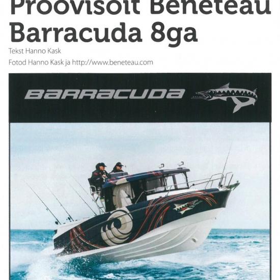 Proovisõit Beneteau Barracuda 8ga