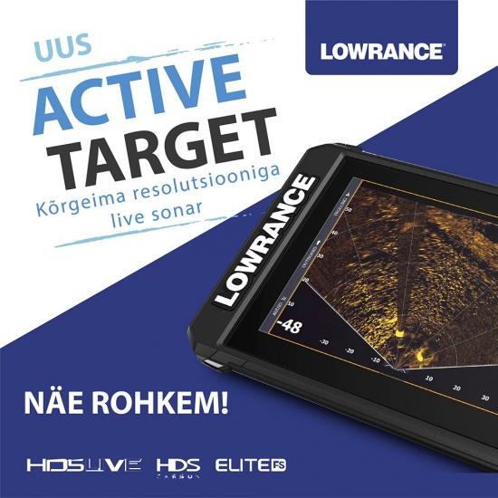 Uus Active Target LIVE-sonar!