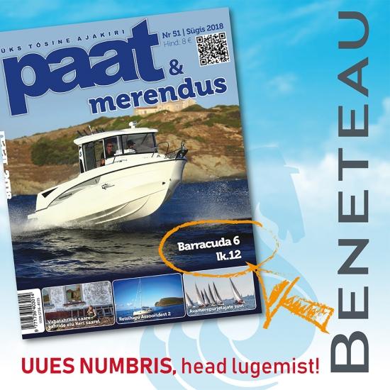 BENETEAU Barracuda 6 - loe värskest ajakirjast PAAT& Merendus!