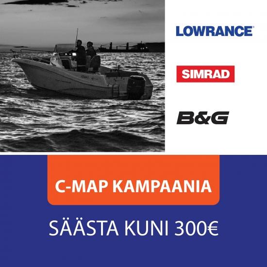 C-MAP kampaania! Säästa kuni 300 EUR!
