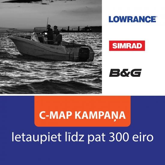 C-MAP akcija! Ietaupiet līdz pat 300 eiro!