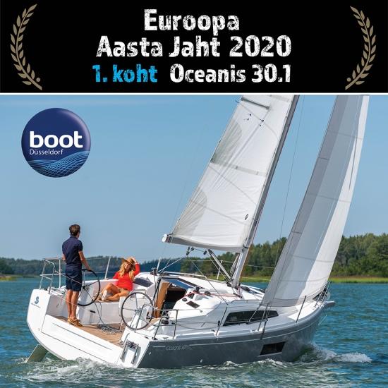 Euroopa Aasta Jaht 2020 ja Euroopa Aasta Mootorpaat 2020 valitud!