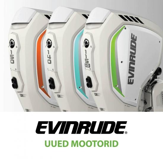 UUS Evinrude E-TEC G2 seeria!