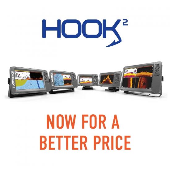 Navico® Reduces Prices on HOOK2 Fishfinders