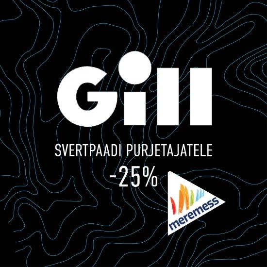 Meremessi soodustus: Gill -25% svertpaadi purjetajatele