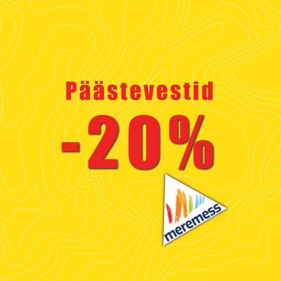Meremessi soodustus: Baltic Lifejackets -20%