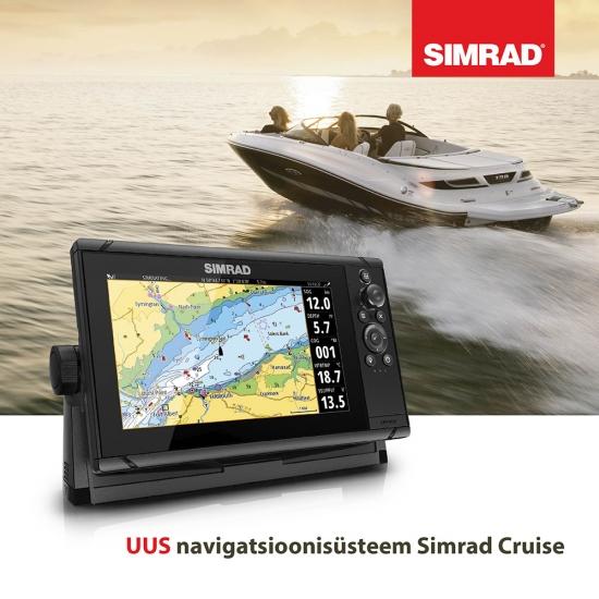 UUS Simrad® Cruise plotter