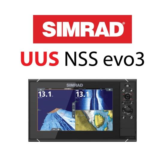UUS Simrad NSS evo 3S multiekraan!