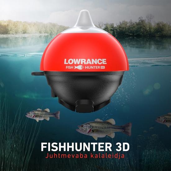 Lowrance juhtmevaba kalaleidja - FishHunter