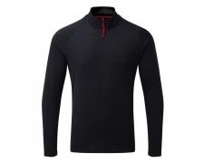 Men´s UV Tec Zip Neck T-Shirt - NEW