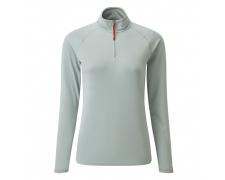 Women´s UV Tec Zip Neck T-Shirt - NEW