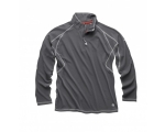 Men´s UV Tec Zip Neck Long Sleeve Top