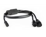 Hook2 Transducer Y-Cable Allows an LSS-2 and HST-WSBL or Puck Transducer to be connected to a Hook2 TripleShot Display.