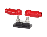 BusBar Dual Stud 3/8in with insulators