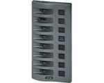 Panel WD Switch Only 8pos Grey (replaces 4309B)