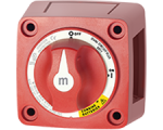 Switch Battery m-Series Dual Circuit Plus Red