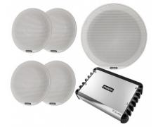"Incl. 4 x 6.5"" Sig Classic Speakers, 1 x 10"" Sig Sub, SG-DA51600 Amp, SG-UPKITClASSIC"
