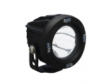 OPTIMUS ROUND BLACK 1 10W LED 60° FLOOD; 9-32V DC
