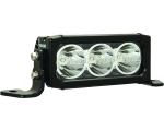 "6"" XPR 10W LIGHT BAR 3 LED SPOT OPTICS FOR XTREME DISTANCE; 9-32V DC"