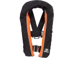 Winner 165 auto w. Harness, Black/orange, 40-150 kg