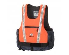Hi-Vis Pro, UV-orange/grey, XL, 90+ kg
