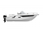 FLYER 9 SUNDECK OUTBOARD NO ENGINE