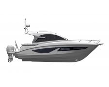 GRAN TURISMO 32 OB standard boat