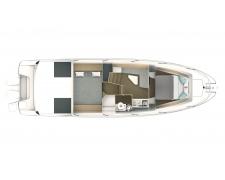 GRAN TURISMO 36 standard boat
