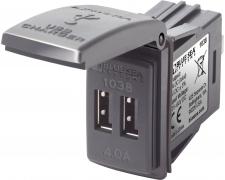 48VDC Dual USB 4A SwMnt