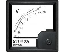 DIN Voltmeter DC 8–16V