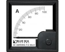 DIN Ammeter DC 0–100A+Shunt