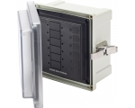 Enclosure SMS Panel 6 Circ Blank (replaces 3113B)