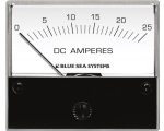 Ammeter DC 0–25A with internal Shunt