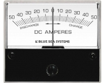 Ammeter DC 50–0–50A with Shunt