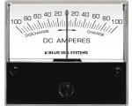Ammeter DC 100–0–100A with Shunt