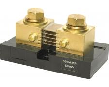 Shunt 500 Amp/50 Mv