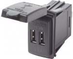 Blue Sea Systems 12/24VDC Dual USB Charger 4.8A Switch (Bulk)