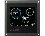 3.5'' TOUCH‐SCREEN Battery monitor (screen + 1 shunt 300A)
