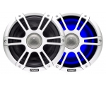 "8.8""  Signature Series Speakers, Sports White, w/LED, SG-FL88SPW"