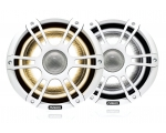 "6.5"" 230 W Sports White Speakers with CRGBW LED Lighting"