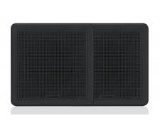"Flush Mount Speaker, 7.7"",  Square Black; FM-F77SB"