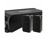 "Dual 6"" Marine Active Subwoofer with Speaker Outputs"